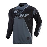 Kenny Track LS Jersey - Black/Grey