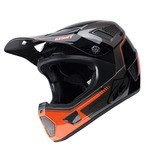Kenny Scrub Fullface Helmet - Grey/Red