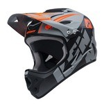 Kenny Downhill Fullface Helmet - Grey/Black