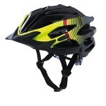 Kenny Furtif MTB Helmet - Black/Yellow Fluo