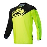 Kenny Factory LS Jersey - Black/Lime