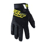 Kenny SF-Tech MTB Gloves - Black/Yellow Fluo