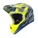 Kenny Downhill Helmet - Grey/Blue