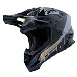 Kenny Trophy Graphic Full-Face Helmet - Black-Gold