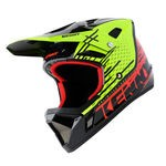 Kenny Decade Full-Face Helmet - Neon yellow-Red