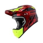 Kenny Downhill Graphic Full-Face Helmet - Candy Red