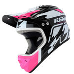 Kenny Downhill Graphic Full-Face Helmet - Pink-Black-White