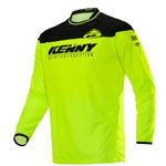Kenny Track Raw Jersey - Neon Yellow-Black