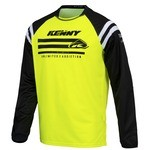 Kenny Track Raw Jersey Neon Yellow