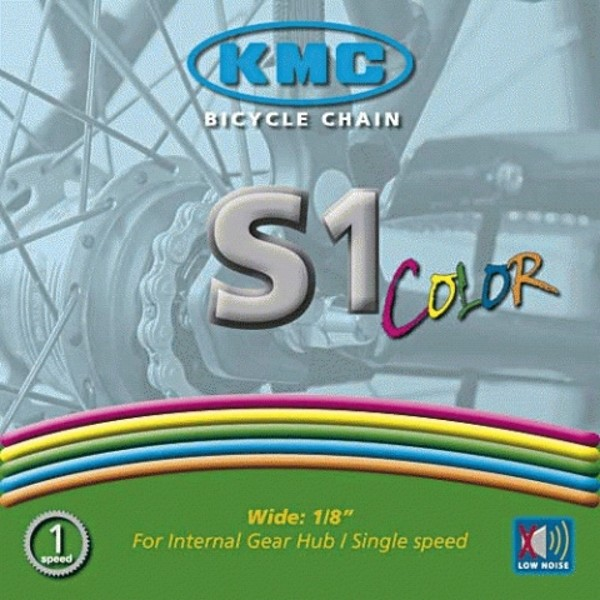 Chain Single speed KMC S1 Z410 (White)
