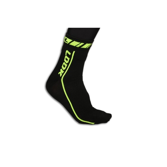 Look Thermo Socks Black / Neon Yellow