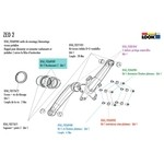 Look Zed 2 & Zed 3 Bottom bracket Bearing kit - DTAC/0268989