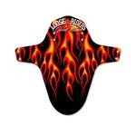 Loose Riders Front Mudguard Flames