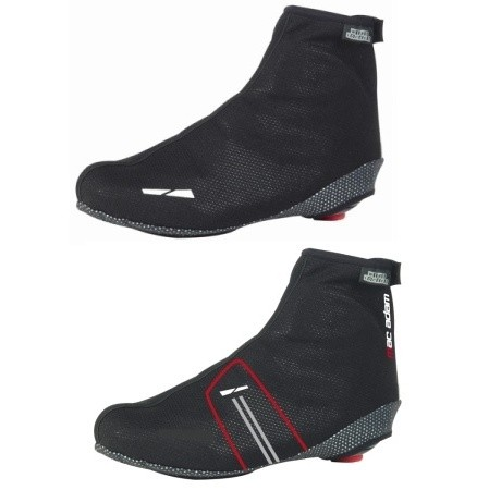 Overshoes :: PREMIUM BLACK/RED