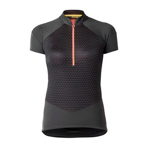 Mavic Sequence Graphic Jersey - Black/Pink