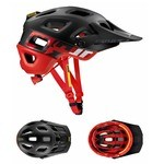 Mavic Crossmax Pro SSC MTB Helmet - Black/Fiery Red