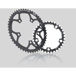 Miche Super 11 1927 Chainring Compact 110 mm Inside - Black