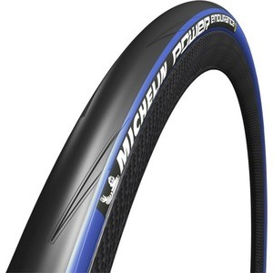 Michelin Power Endurance Tyre - Black/Blue 700X25c
