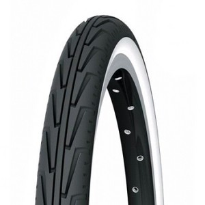 Tyre Michelin City.J 400 A (37 - 340) Noir / Blanc