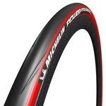 Michelin Power Endurance Tyre - Black/Red 700X25c