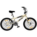 Monz BMX Monz Double X 20 Freestyle & Allround cream-coloured