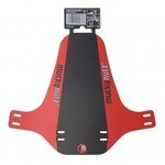 Mucky Nutz Face Fender Mud Guard Black/Red