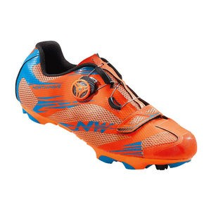 Northwave Scorpius 2 Plus MTB Shoes Orange / Blue