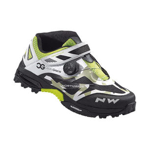Northwave Enduro MID MTB Shoes Camo / White / Black