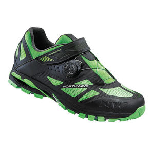 Northwave Spider Plus 2 MTB Shoes Black / Fluo Green