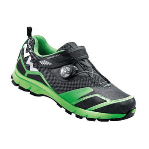 Northwave Mission Plus MTB Shoes Black / Fluo Green