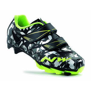 Northwave Hammer Junior Shoes - Camo/Yellow