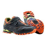 Northwave Spider Plus 2 MTB Shoes Anthracite / Black / Orange