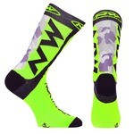 Northwave Socks Extreme Tech Plus - Camo/Green Fluo