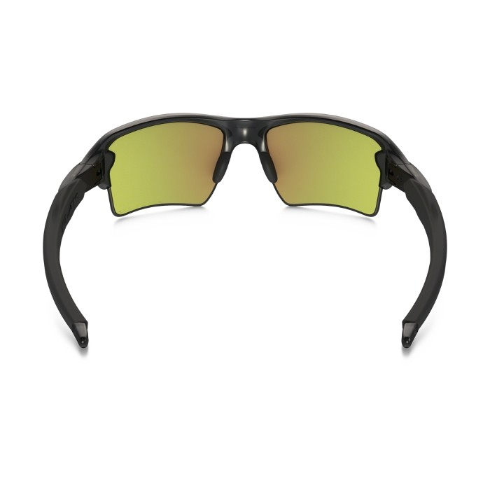 b4e47b31d1 ... Oakley Flak 2.0 XL Matte Grey Sunglasses - Fire Iridium Polarized ...