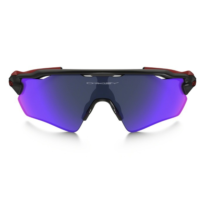 ... Oakley Radar EV Path Polished Black Sunglasses - Positive Red Iridium  ... 9be678d45d30