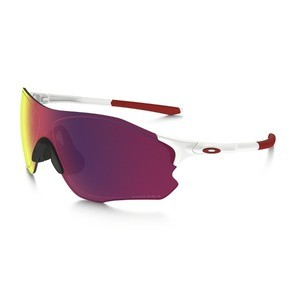 59a41b6481 Oakley EVZERO Path Matte White Sunglasses - PRIZM Road - XXcycle - en