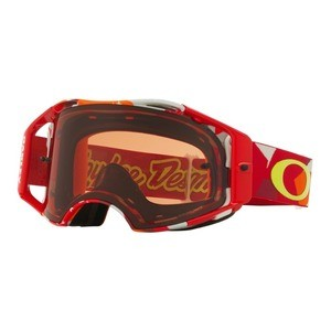 Oakley Airbrake MX Troy Lee Design Splinter Red Goggle - Prizm MX Bronze