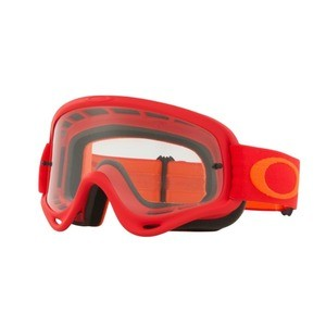 Oakley O-Frame MX Red Goggle - Clear