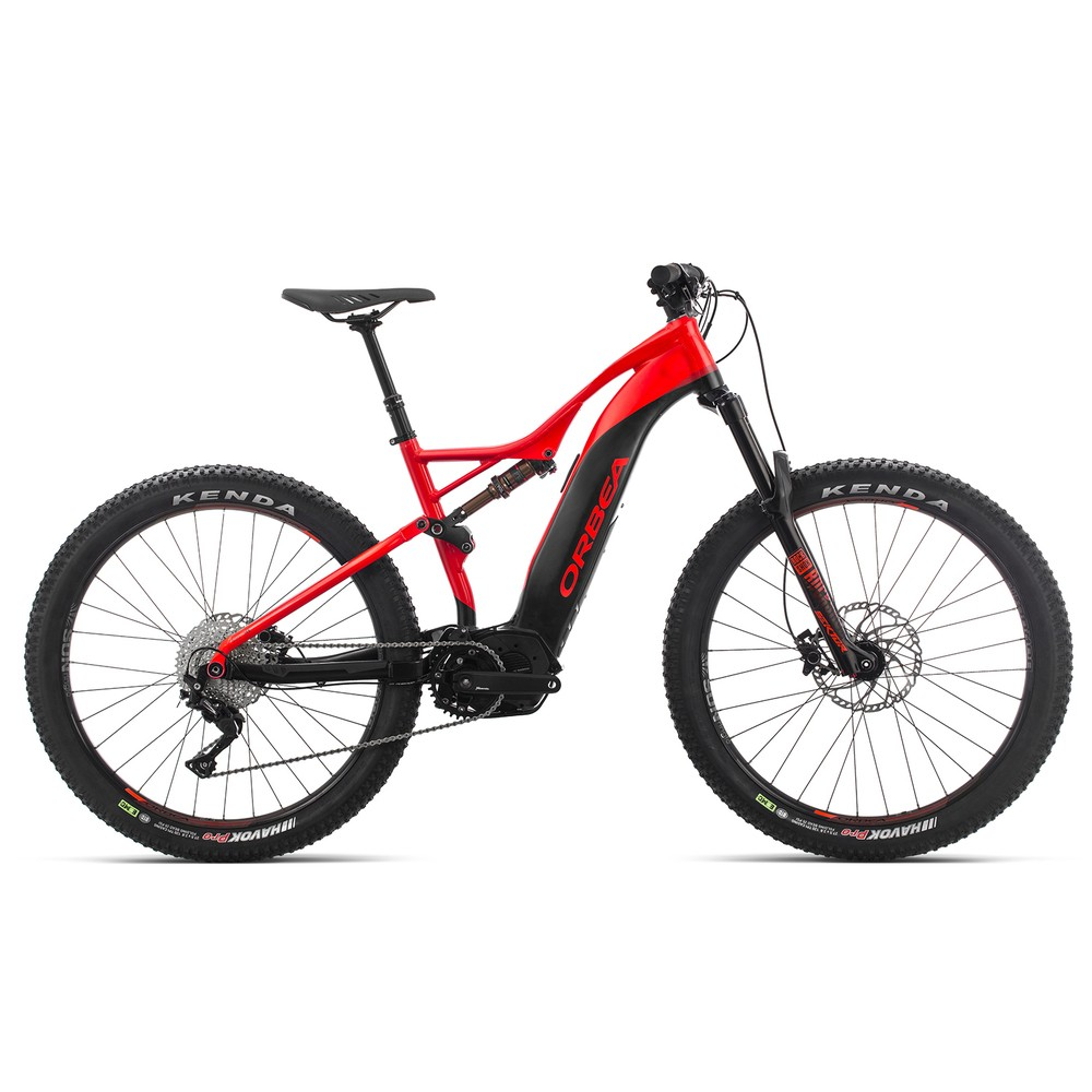 Orbea Wild Fs 40 Electric Mtb Red Black Orb 233 A