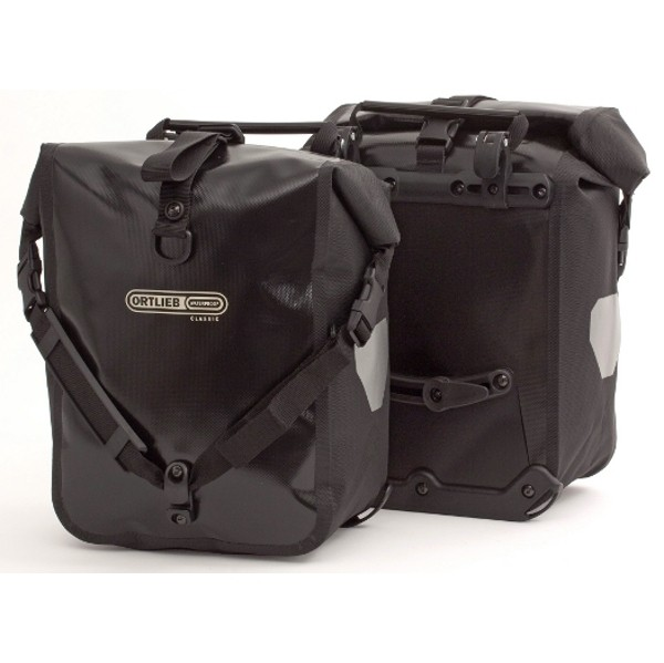 Travel Bike bags :: Front-Roller Classic (pair) Black