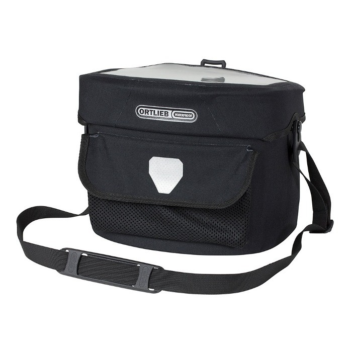 Handlebar bag Ortlieb Ultimate 6 M Pro E/usb - Black