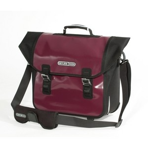 Ortlieb Downtown QL2.1 F7312 Bike Pannier - Aubergine / Black