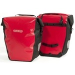 Ortlieb Back-Roller City Bike Panniers - Red/Black - Pair