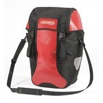 Ortlieb Bike-Packer Plus Bike Panniers - Red/Black - Pair