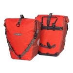 Ortlieb Back-Roller Plus Bike Panniers - Signalred/Chili - Pair