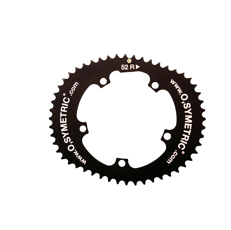 Osymetric BCD 110mm 4 Bolts 44T Alloy Bicycle Inner Chain Ring