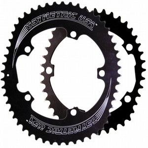Chainring Kit OSymetric Compact 110 Campagnolo Black