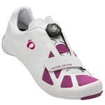 Pearl Izumi Elite Road IV Series Road Bike Shoes - White/Purple