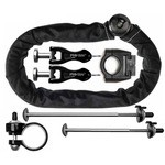 Pinhead City Lock Ultimate Locks Pack for Wheels, Saddle and Frame
