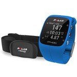 Polar M400 HR Heart Rate Monitor - Blue
